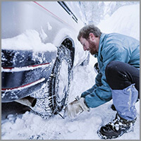 Rent a Car Bulgaria - Snow chains